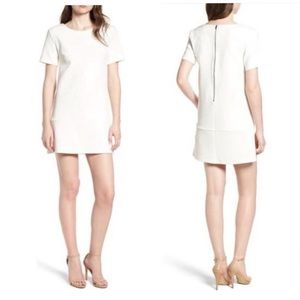 Bishop + Young Ivy off white shift dress S